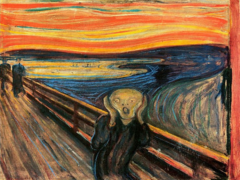 Was There a Real Volcanic Eruption in The Scream by Edvard Munch?