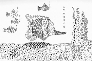 Untangle the Doodle Like Art Method Zentangle