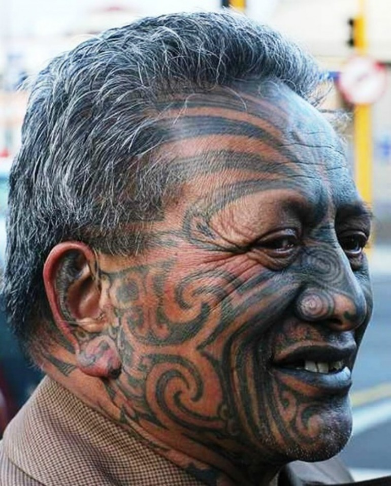 Tā moko, the Traditional Māori Tattoo Art