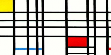 THE COLORS OF PIET MONDRIAN'S ABSTRACTS