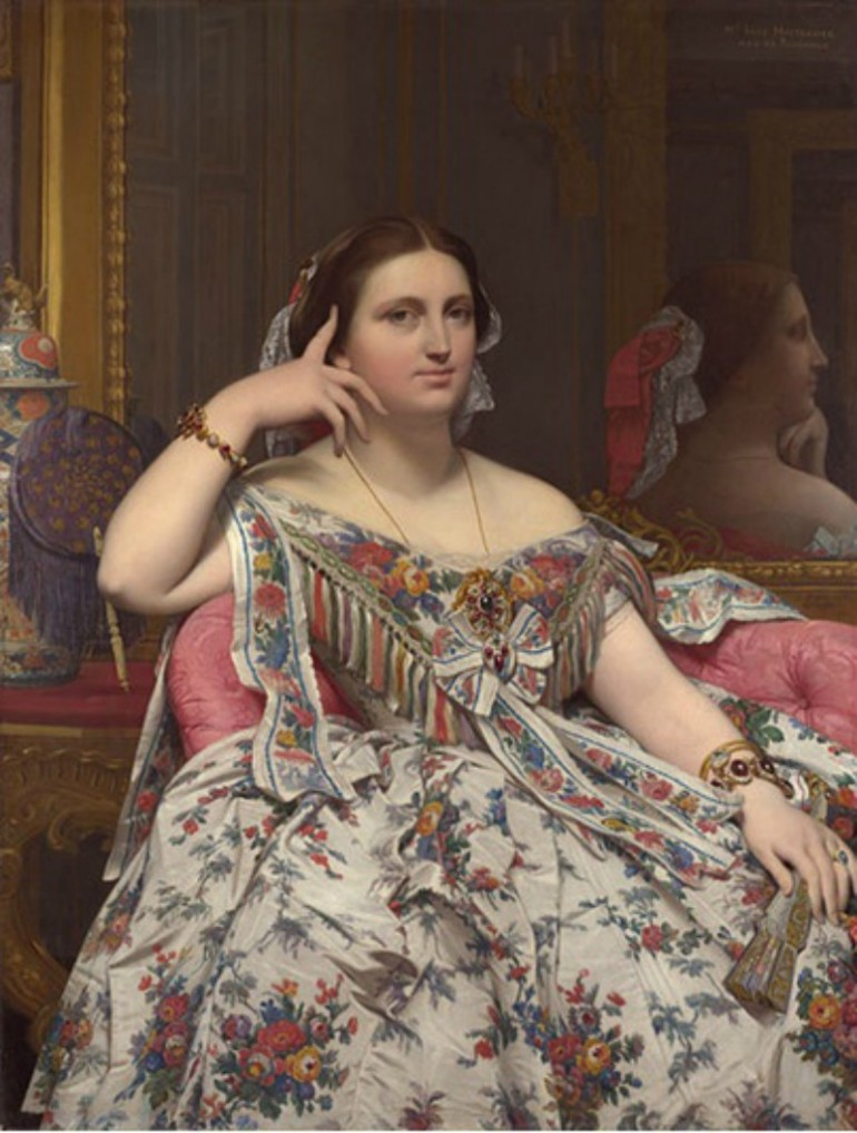 THE PORTRAITS OF FRENCH NEO-CLASSICIST PAINTER JEAN-AUGUSTE-DOMINIQUE INGRES