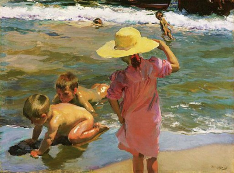 THE VIBRANT COLORS AND BLINDING LIGHT OF JOAQUÍN SOROLLA
