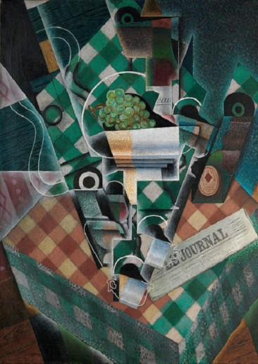 JUAN GRIS, ONE OF THE MOST DISTINCTIVE CUBIST PAINTERS