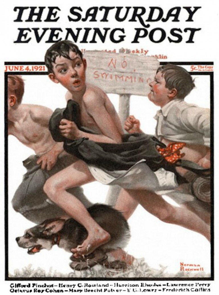 THE TIMELESS POPULARITY OF NORMAN ROCKWELL AND HIS   REFLECTION OF AMERICAN CULTURE