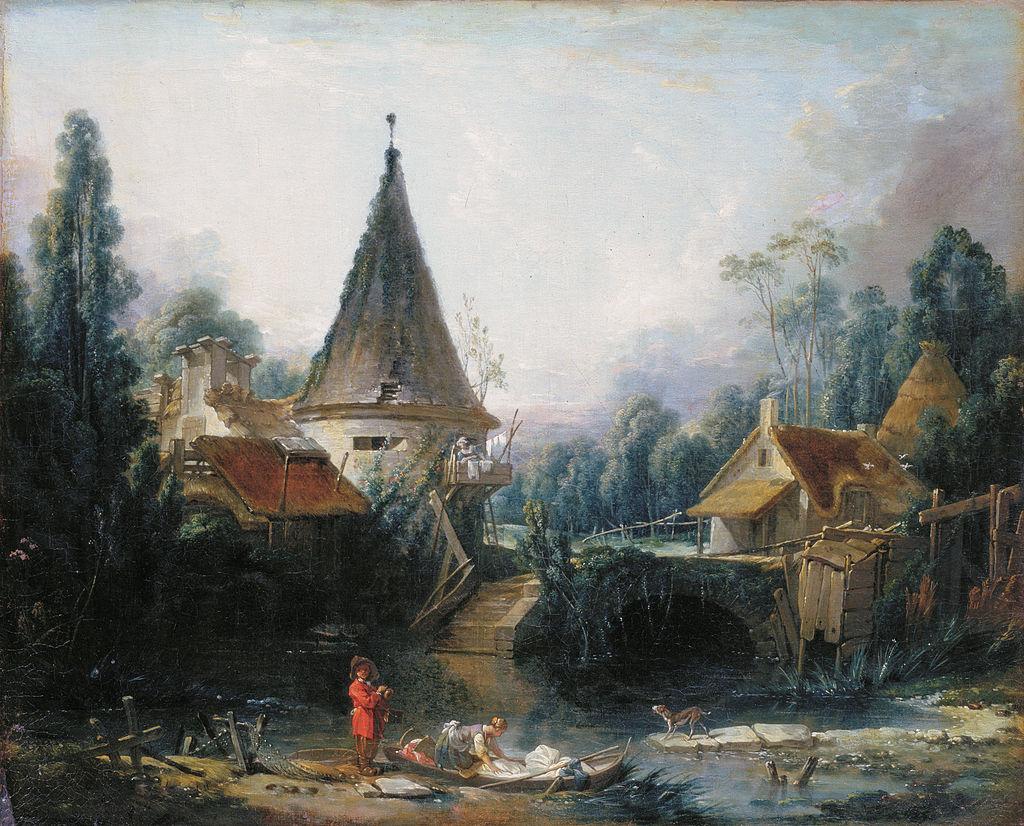 François Boucher Painting