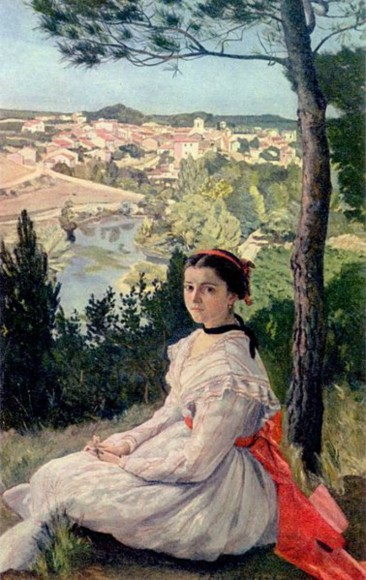 JEAN FRÉDÉRIC BAZILLE, A VERY PROMISING FRENCH IMPRESSIONIST PAINTER WHO DIED TOO YOUNG