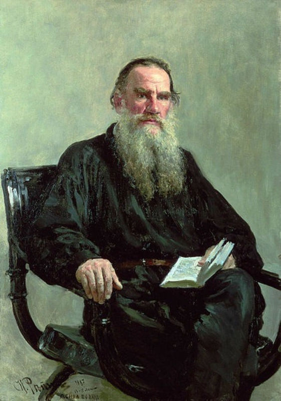 ILYA REPIN, MOST RENOWNED 19TH CENTURY ARTIST IN RUSSIA