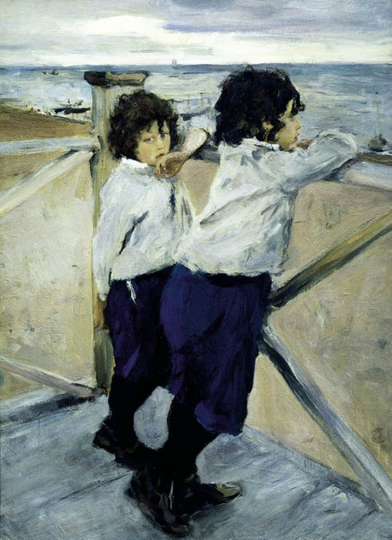 VALENTIN SEROV, RUSSIAN REALIST/IMPRESSIONIST AND BRILLIANT PORTRAITIST