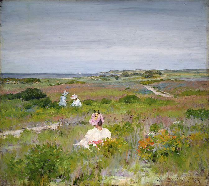 WILLIAM MERRITT CHASE, AMERICAN PAINTER, TEACHER AND EXPONENT OF IMPRESSIONISM
