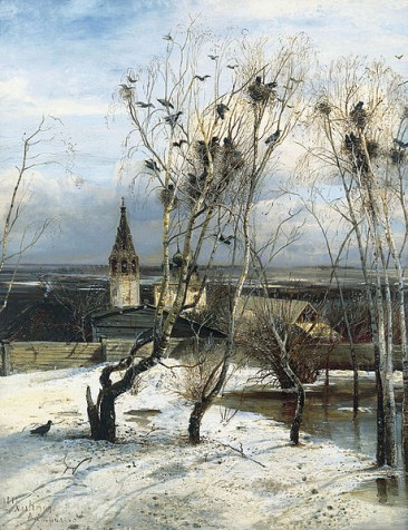 ALEXEI SAVRASOV, RUSSIAN IMPRESSIONIST PAINTER AND INVENTOR OF THE LYRICAL LANDSCAPE PAINTING STYLE