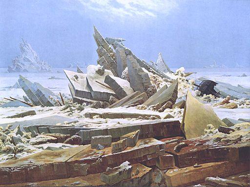 Caspar David Friedrich Das Eismeer HamburgerKunshalle