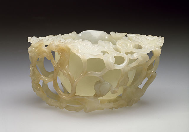 Chinese Brushwasher in the Form of a Peony Walters