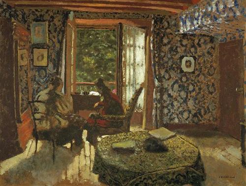 Édouard Vuillard Interieur