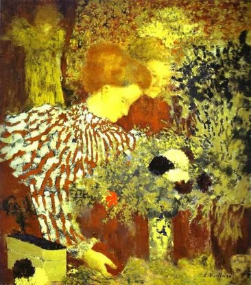 THE HUMOR, DELICACY AND INTRICATE PATTERNS OF LES NABIS PAINTER ÉDOUARD VUILLARD