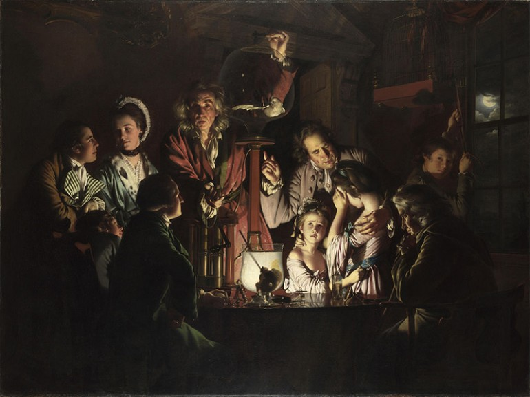 JOSEPH WRIGHT OF DERBY – ENGLISH PORTRAITIST, LANDSCAPE ARTIST AND GENRE PAINTER EXTRAORDINAIRE