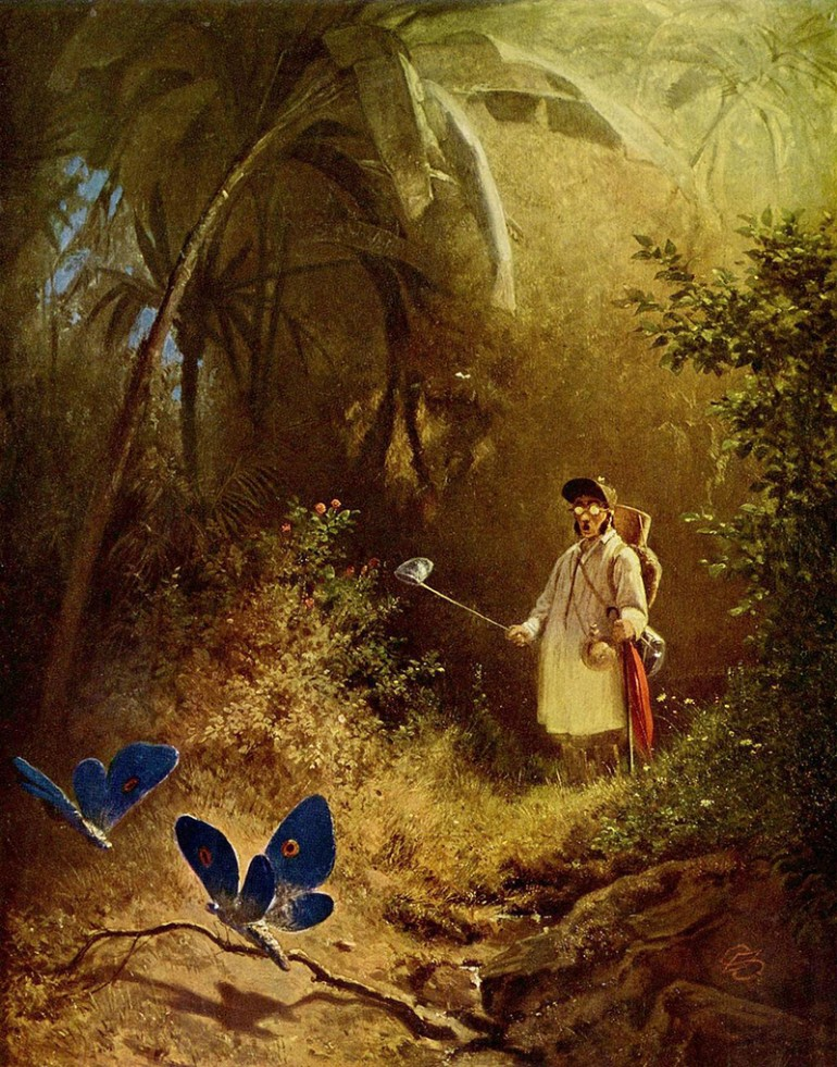 CARL SPITZWEG, GERMAN ROMANTICIST AND AN IMPORTANT ARTIST OF THE BIEDERMEIER PERIOD