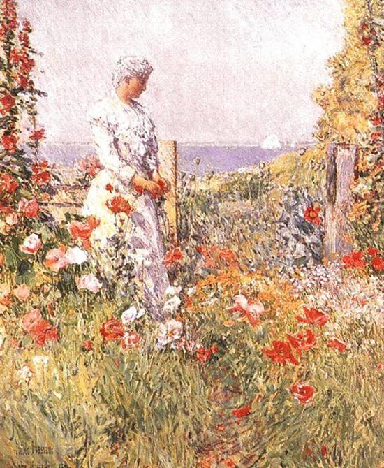 Celia_Thaxter_in_Her_Garden