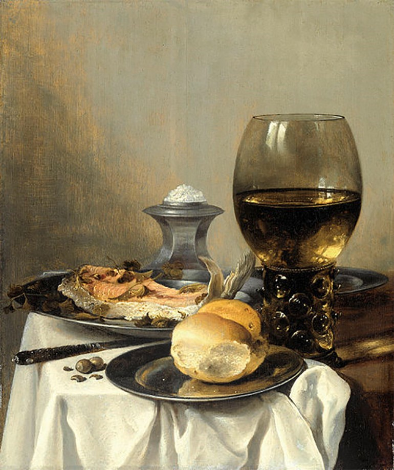 THE DELICATE BEAUTY OF REFLECTED LIGHT ON THE STILL LIFES OF PIETER CLAESZ