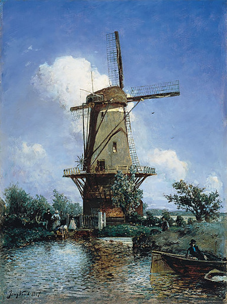 JOHAN BARTHOLD JONGKIND – EXTREMELY INFLUENTIAL 19TH CENTURY IMPRESSIONISM PIONEER