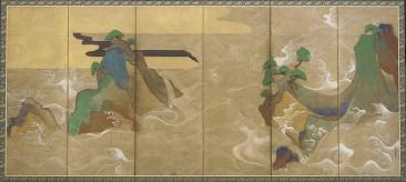 TAWARAYA SŌTATSU, JAPANESE PAINTER AND PIONEER OF THE TARASHIKOMI TECHNIQUE