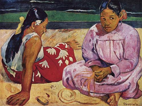 Femmes de Tahiti, ou Sur la plage
