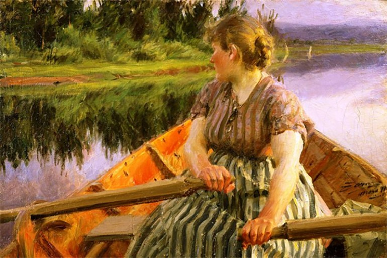 TALENTED SWEDISH IMPRESSIONIST ANDERS ZORN, WHO DAZZLED THE WORLD AS AN ETCHER, SCULPTOR AND PAINTER