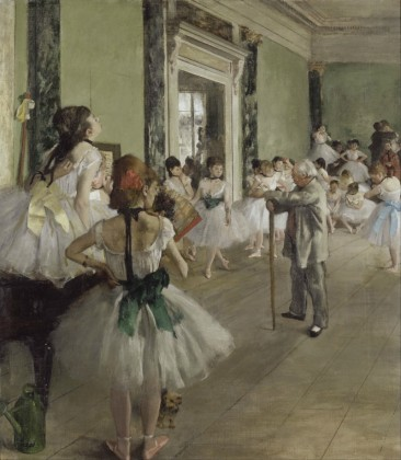 THE CLASSIC BEAUTY OF THE BALLERINAS AND PORTRAITS OF EDGAR DEGAS, A CORE MEMBER OF FRENCH IMPRESSIONISM
