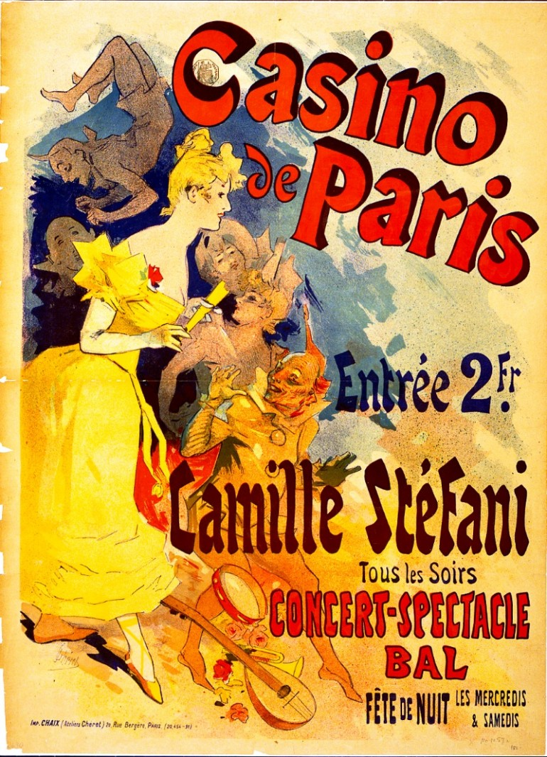 "JULES CHÉRET, THE FATHER OF FRENCH ""BELLE EPOQUE"" POSTER ART"
