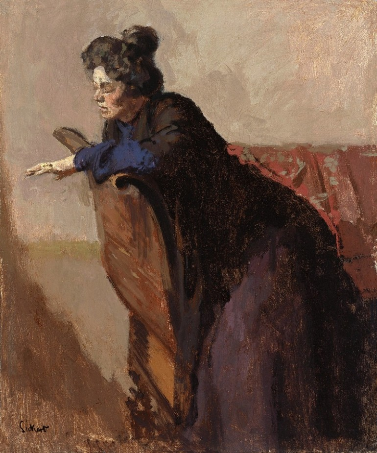 WALTER SICKERT, ECCENTRIC 20TH CENTURY BRITISH POST-IMPRESSIONIST AND AVANT GARDE ARTIST