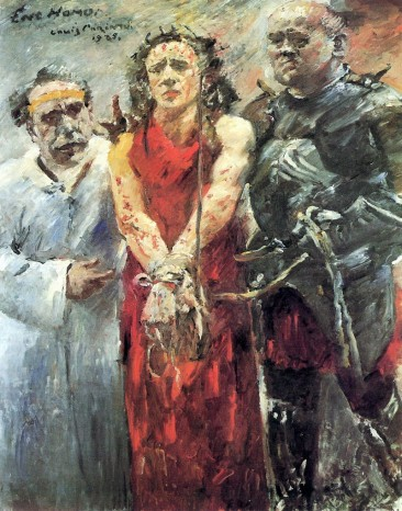 LOVIS CORINTH, PREMIERE GERMAN IMPRESSIONIST AND ONE OF MODERN ART'S CLASSIC PAINTERS