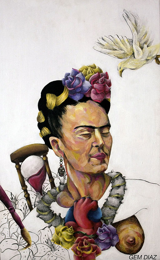 Frida Kahlo Art