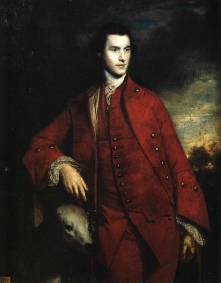 THE RICH AND LUSCIOUS PAINTWORK OF PRIME BRITISH PORTRAIT ARTIST SIR JOSHUA REYNOLDS