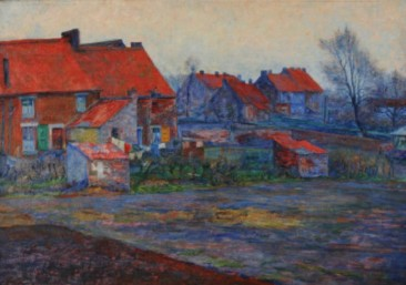 EUGÈNE BOCH, A BELGIAN IMPRESSIONIST PAINTER WHO WAS A  FRIEND OF VINCENT VAN GOGH
