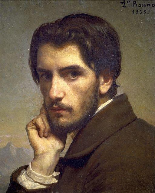 Léon Bonat Autoportrait
