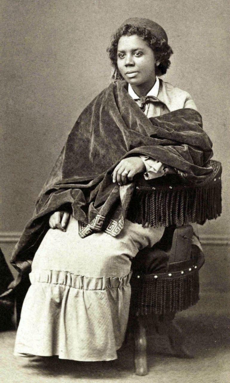 EDMONIA LEWIS, THE FIRST AFRICAN-AMERICAN AND NATIVE AMERICAN PROFESSIONAL SCULPTOR