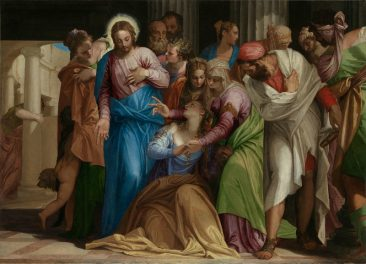PAOLO VERONESE, SUPREME COLORIST AND ONE OF THE GREAT TRIO OF 15TH CENTURY VENETIAN PAINTERS