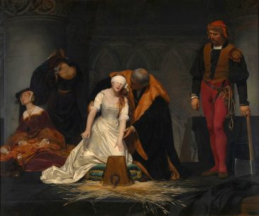 THE HAUNTINGLY REALISTIC HISTORY PAINTINGS OF PAUL DELAROCHE