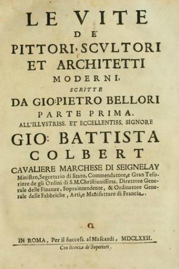 Giovanni Pietro Bellori Painting
