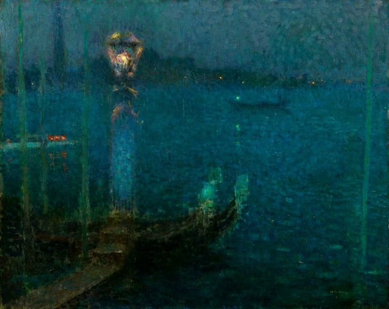 THE ATMOSPHERIC EFFECTS OF LIGHT IN THE LANDSCAPES OF HENRI LE SIDANER