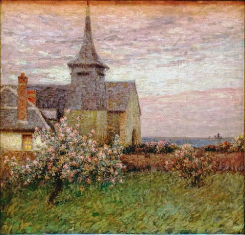 Henri Le Sidaner Painting