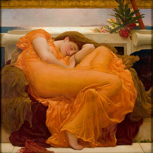 Sir Frederic Leighton Painting