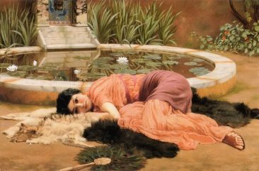 VICTORIAN NEO-CLASSICIST JOHN WILLIAM GODWARD AND HIS IDEALIZED AND ROMANTICIZED WORLD