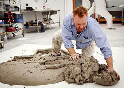 Brad Pitt Sculpture