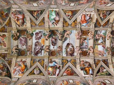 SECRETS, MESSAGES, FACTS AND CODES IN MICHELANGELO'S SISTINE CHAPEL PAINTING
