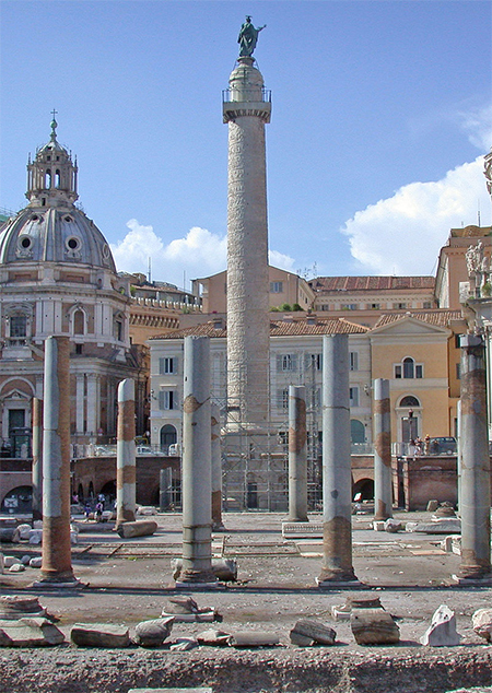 Roma Colonna Traiana Basilica