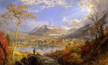 THE EXPANSIVE AND VIVID LANDSCAPES OF HUDSON RIVER ARTIST JASPER FRANCIS CROPSEY