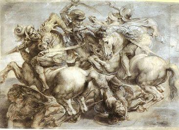 THE BATTLE OF ANGHIARI, THE LOST MASTERPIECE OF LEONARDO DA VINCI