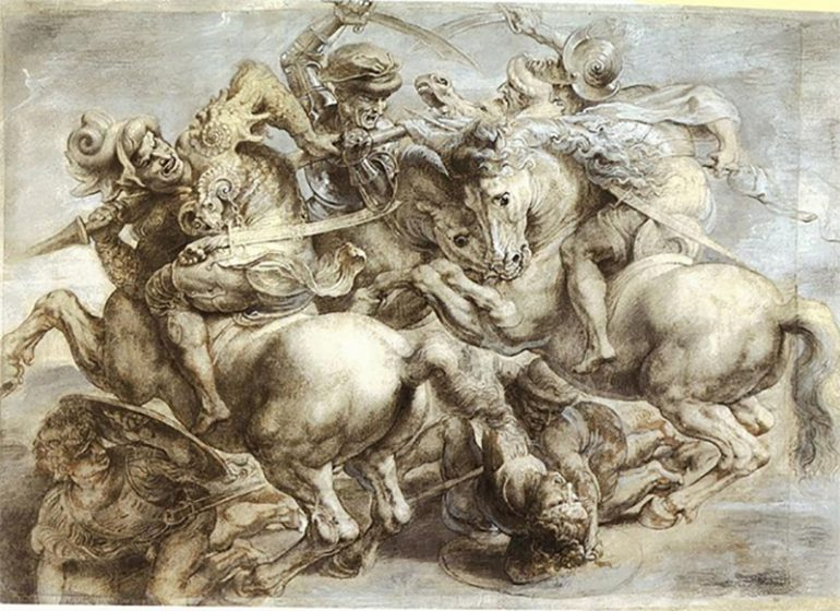 THE BATTLE OF ANGHIARI, THE LOST MASTERPIECE OF LEONARDO DA VINCI