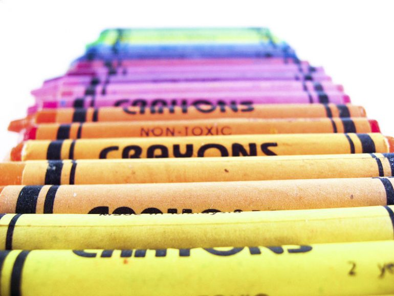 The Colorful History of Crayons