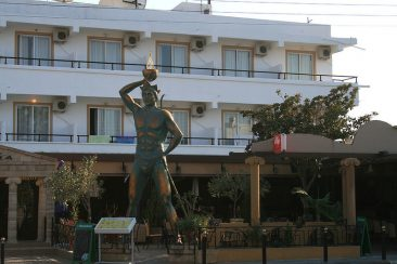 Lost Art: The Colossus of Rhodes